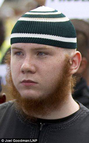 brainwashed ginger islamic extremist Jordan Horner