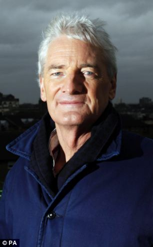 Inventor: Sir James Dyson closely guards his patents and his company now holds 3,000 for 500 inventions