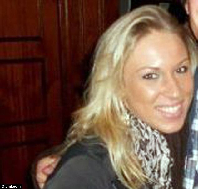 Victim: Jacklyn Nugent, 26, was the New England Patriots fan who was punched twice in the face by a Jet's fan after Sunday's game