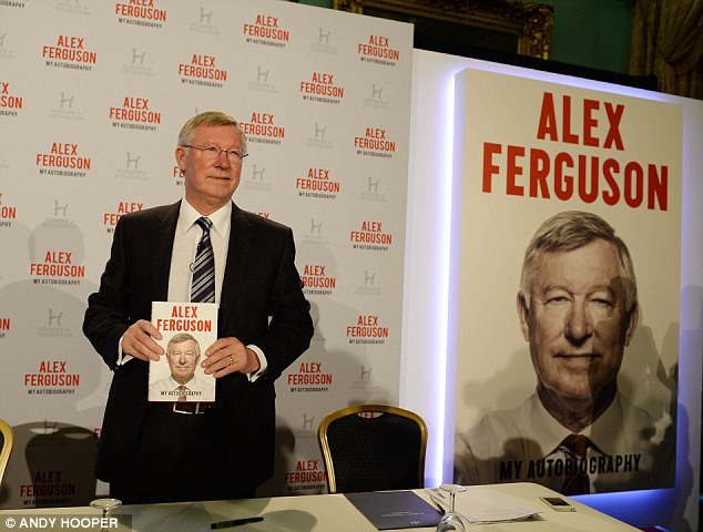 Strong words: In Sir Alex Ferguson