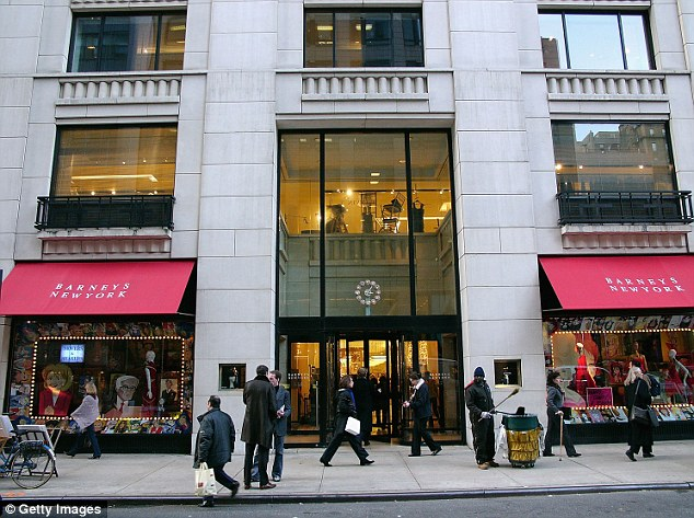 Barneys department store is facing a lawsuit after a 19-year-old black student claims he was wrongly grabbed by store detectives because of his color and accused of stealing a designer belt