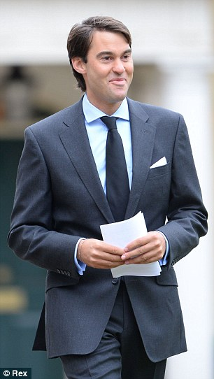William van Cutsem, an old family friend of Prince William's, will be one of the godfathers