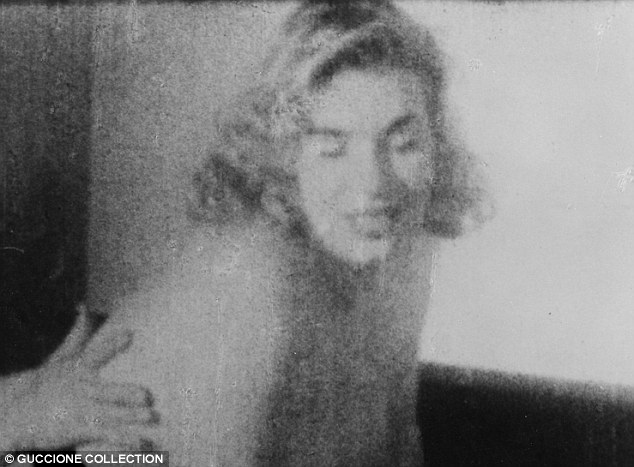 Is this Marilyn? These pictures of an unidentified woman are rumoured to be of a young Marilyn Monroe - but this has never been proven. They were found in the haul belonging to Bob Guccione