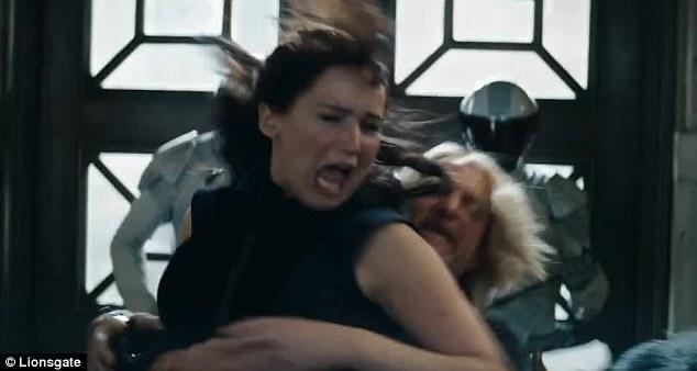 Katniss Everdeen Catching Fire Chariot Scene