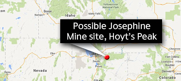 Location: Other explorers have long believed that the that the lost mine - with untold riches - was located at Hoyt's Peak in northeastern Utah