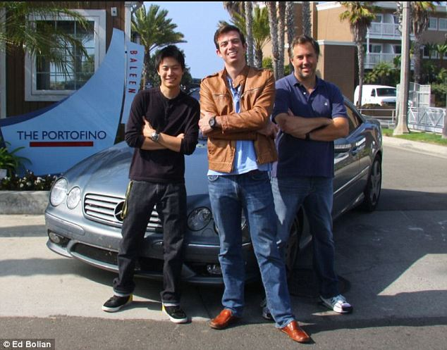 Ed Bolian, Dave Black, Dan Huang, Jim Caldwell, Redondo Beach, New York To California, Cannonball Run, Cannon Ball Run