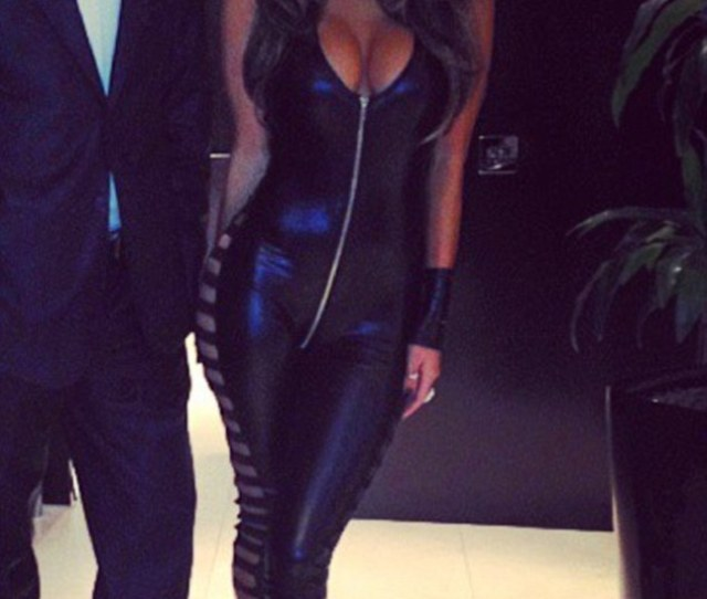 Nicole Scherzinger Wowed In An Eye Popping Plunging Catsuit To Attend Jonathan Rosss