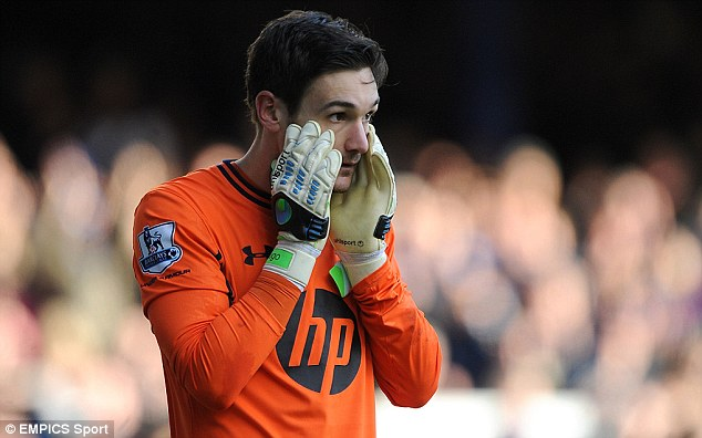 No chance of leaving: The French goalkeeper insisted that he would carry on playing