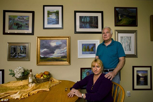 Frustrated: The plan they found on their state insurance exchange only covers providers in Pennsylvania, so the couple, who live near Delaware, won't be able to see doctors they've used for more than a decade