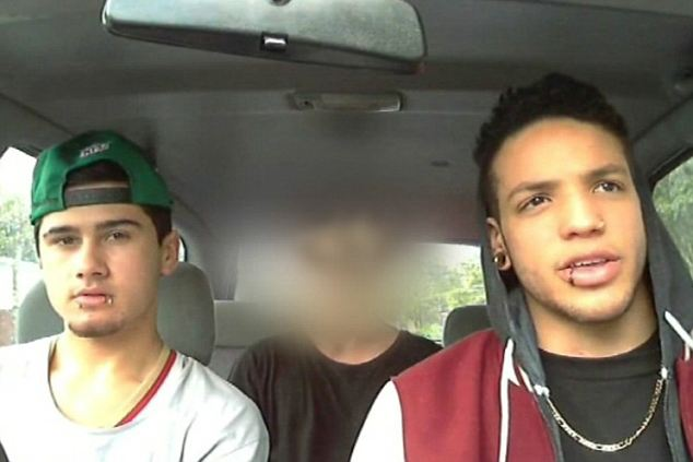 Natalie Gousmett from the Wellington Rape Crisis Centre said that the Roastbusters case, featuring a group of Auckland youths (pictured) had already put attitudes to rape in the spotlight