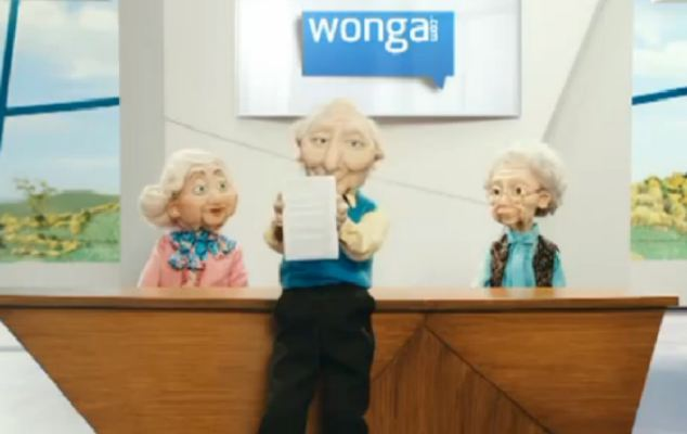 Puppets: Martin Lewis condemned the use of adverts designed to appeal to children and 'normalise' borrowing