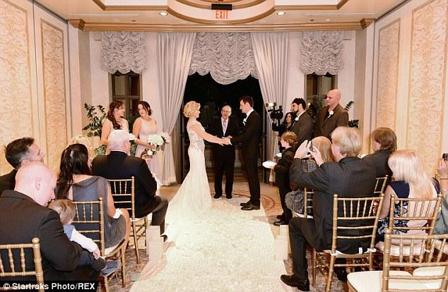 Behind The Scenes Of Megan Hiltys Vegas Wedding To Brian