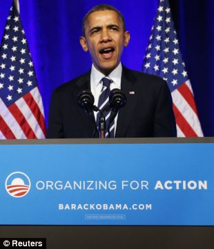 Let me be perfectly clear ... I didn't mean it! Obama changed his rhetoric Monday night, backing off from his oft-repeated promise that no American would be forced to abandon his or her health insurance under Obamacare