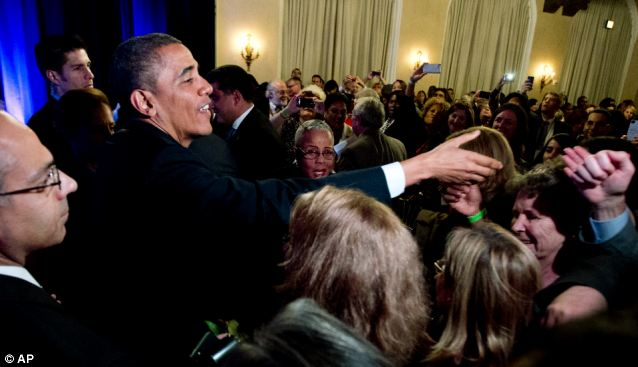 Means to an end: Obama is playing for his presidential legacy, and gambling that the Affordable Care Act will work out in the end; his throngs of fans don't seem bothered by word-parsing or repeated promises