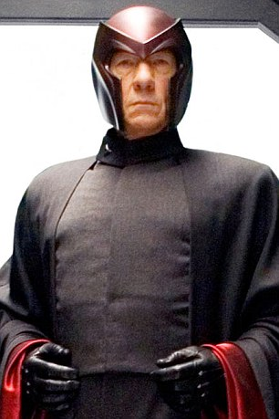 Sir Ian McKellen as Magneto in X Men 3 The Last Stand