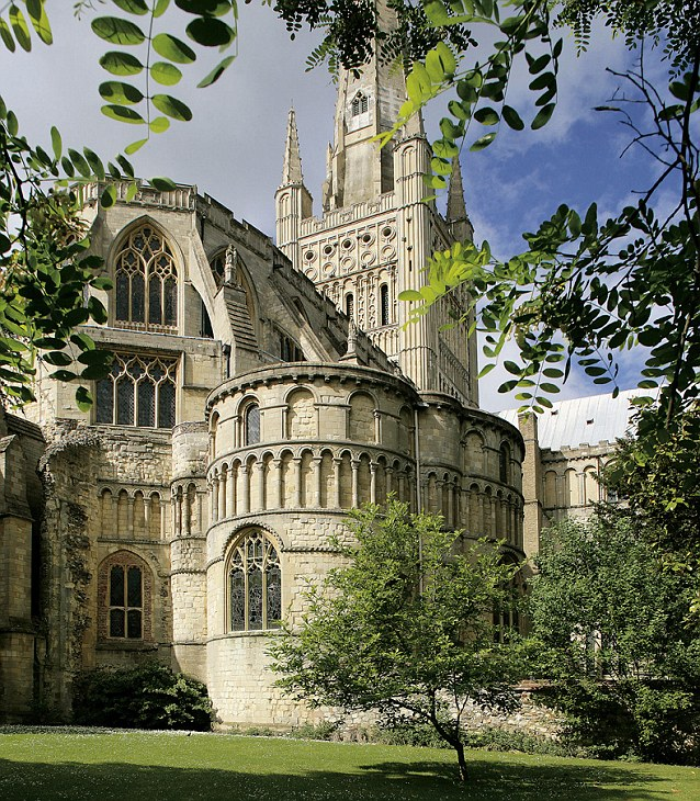 Norwich is more known for its historical architecture, such as the beautiful Cathedral, pictured, than erotic activities