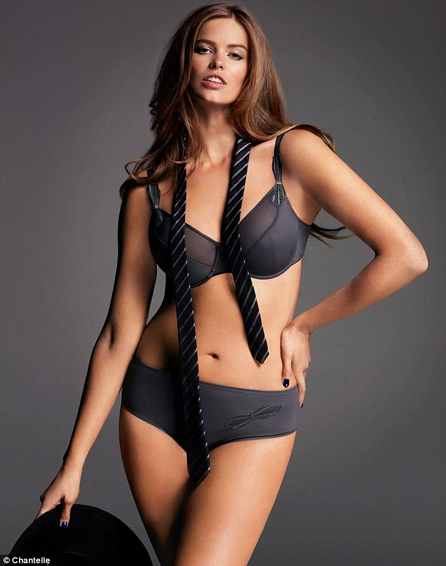 c248e5c31c09b Plus-size model Robyn Lawley is the new face of French lingerie company  Chantelle Paris