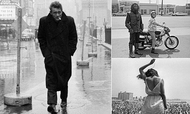 Rare Photos Featuring James Dean Marilyn Monroe And