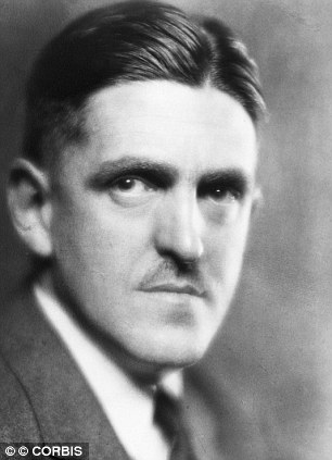 ca 1930 --- Portrait of Sidney Coe Howard (1891-1939), Pulitzer Prize-winning playwright. Howard wrote the screenplay for Gone With the Wind. --- Image by © CORBIS