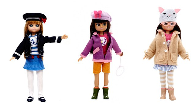 Positive play: Other dolls in the range encourage girls to be sporty, brave and kind to nature