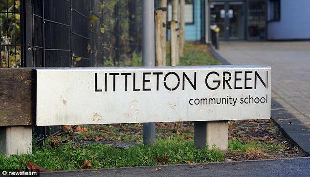 Littleton Green community school in Huntingdon, Staffordshire, was told it 'required improvement' by Ofsted