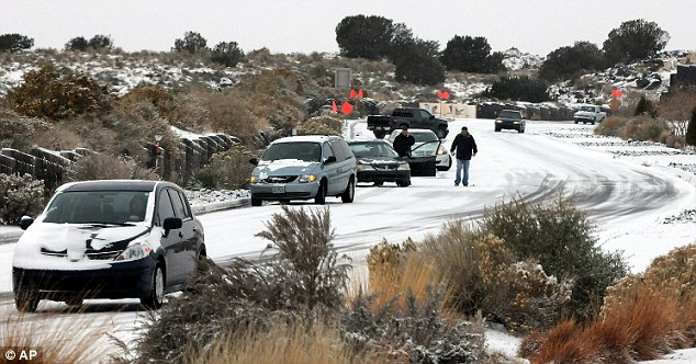 Sleet Texas Driving Cars Images