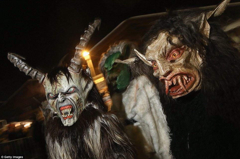 Meet The Krampus The Terrifying Evil Companion Of Kindly