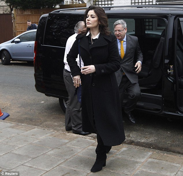 TV chef: Nigella Lawson, 53, will give evidence against Italian sisters Elisabetta and Francesca Grillo who worked as her personal assistants