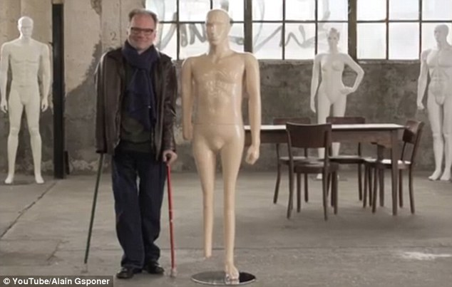 Each person had a mannequin made to perfectly reflect their body shape