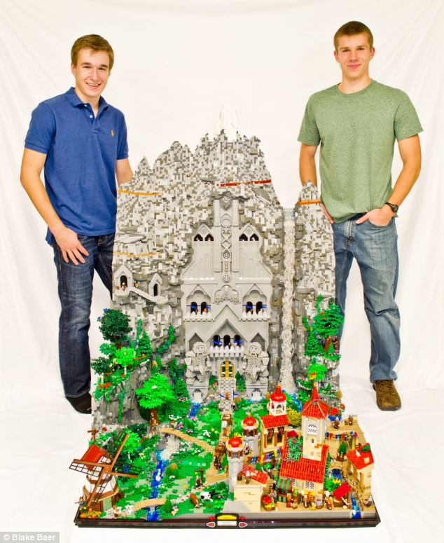 welcome to erebor hobbit kingdom is recreated by two teenage fans