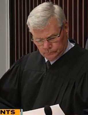 the judge showed her no mercy