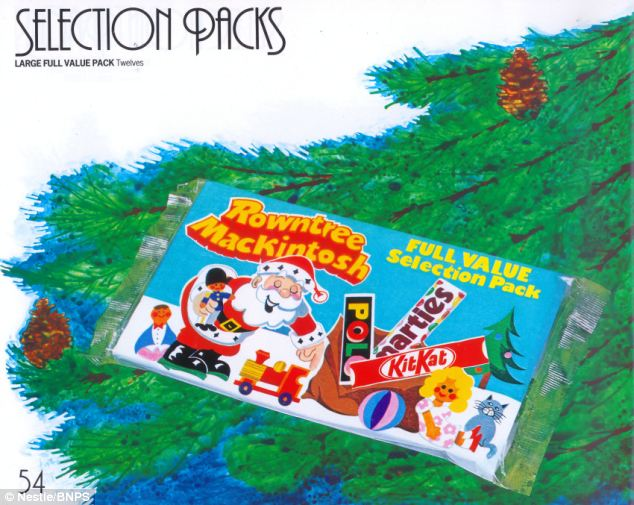 Archive Of Rowntrees Christmas Selection Boxes Dating