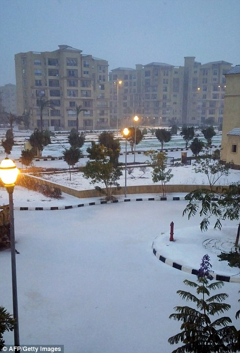 Historic Snow Fall Turns Holy Land Into The Scenes We See