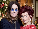 Mr and Mrs O! The Osbournes as they appear in the new issue of Hello! magazine