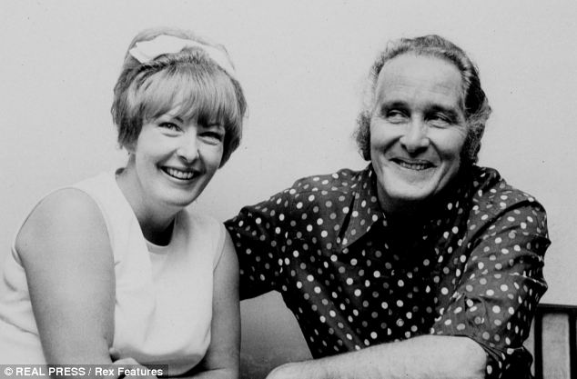 Biggs, pictured with his wife Charmian in 1974, was sentenced to 30 years' behind bars on April 15, 1964, but was to serve just 15 months in prison