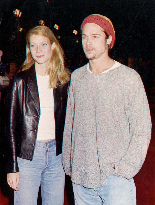 Everyone's leading man: Brad cemented his heartthrob status by dating a string of beauties in the 90s including Gwyneth Paltrow