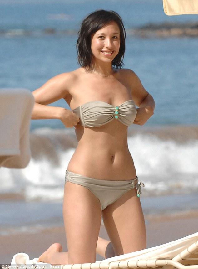 Everyone needs a holiday! Cheryl Burke enjoys a beach break in Hawaii