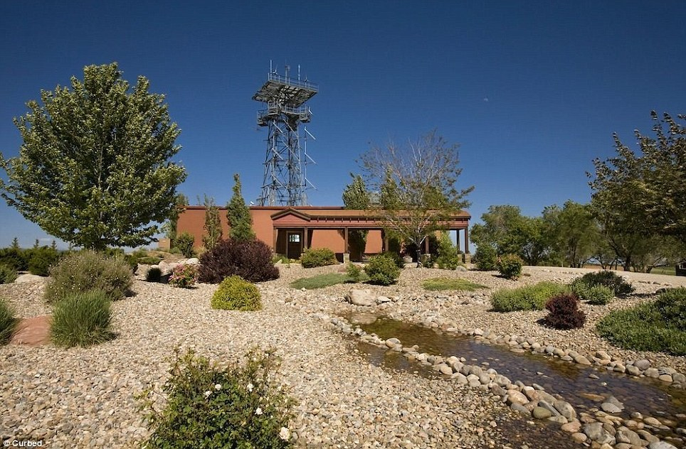 Just your average house ... with a 100-foot radio tower: This Colorado bunker, which has been deemed disaster-proof, is on the market for $11.5 million