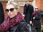 Lovebirds reunited: Peter Crouch and Strictly Come Dancing champion Abbey Clancy walk down the street hand-in-hand