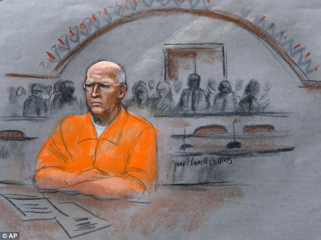 Track records: When it was revealed more than 10 years ago that mobster Whitey Bulger was a snitch, the FBI was mandated to keep track of illegal activities they authorized informants to commit. Above, Bulger in court on November 13, 2013