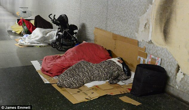 Warning: A council leader has said that even before the expected immigration influx there have been problems with Roma sleeping rough and behaving in anti-social ways