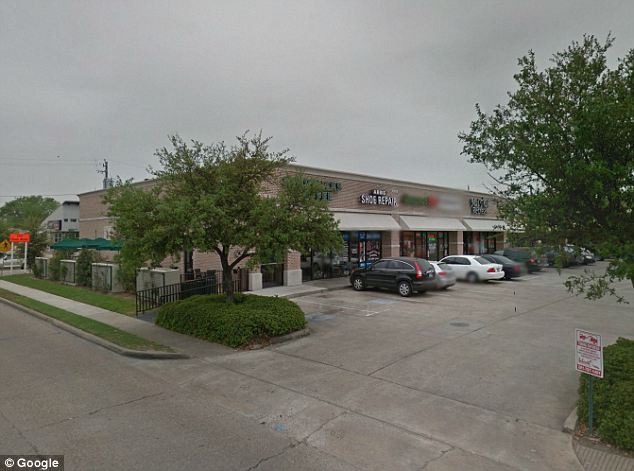 Scene: The victim told police that Darden wanted to meet him while inside the car at this Houston Starbucks because she had her baby with her