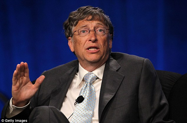 Business leader: 58 year-old Gates's wealth to $78.5 billion, according to Bloomberg's index, as shares of Microsoft, the world's largest software maker, rose by 40 per cent