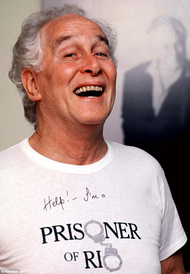 Notorious: Ronnie Biggs, who died last month, revelled in the fame his heinous crime brought him