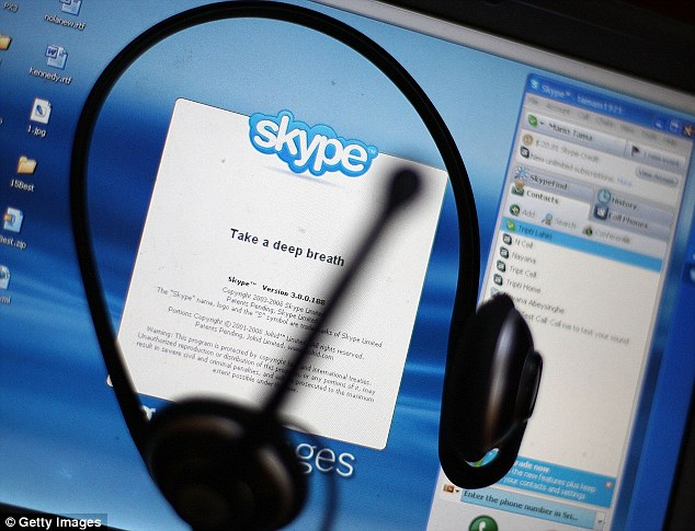 Conversation: The first time one bride, Shaista, spoke to her perspective husband was via Skype