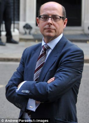 Criticism: Nick Robinson, pictured outside 10 Downing Street, said BBC executives feared uncensored debate