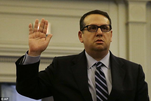 Former Port Authority official David Wildstein resigned in December; he appeared before John Wisniewski's transportation committee on Thursday but refused to answer questions about the bridge scandal