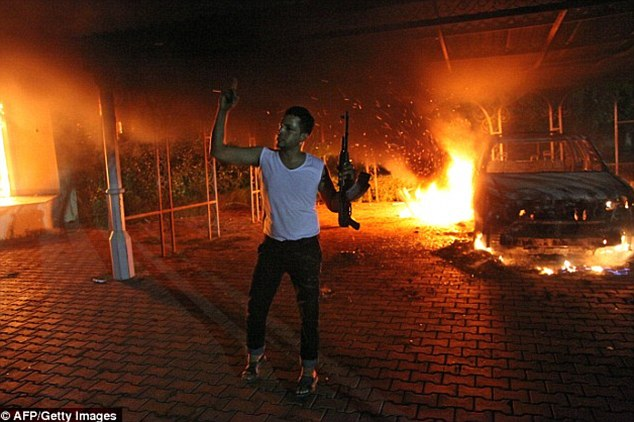 Secret documents detailing how top U.S. military officials learned about the Benghazi attack in 2012 show that the Obama administration knew 'within minutes' it was the work of terrorists, despite maintaining for two weeks afterward it was a protest gone wrong