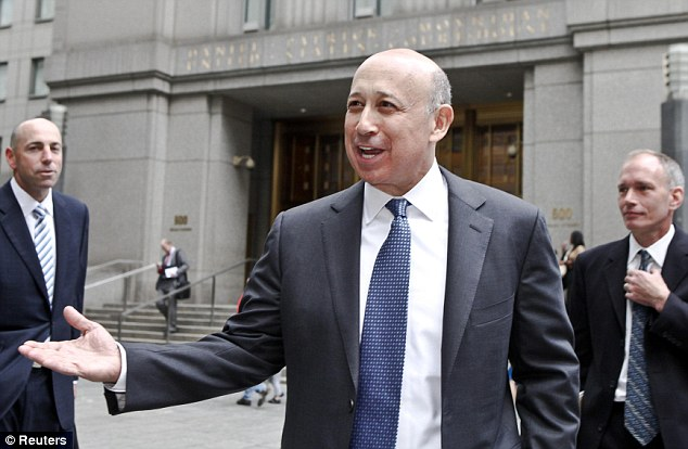 Goldman Sachs (Chief Executive Lloyd Blankfein pictured) made more money in its investment banking division in 2013 than in any other year in its history