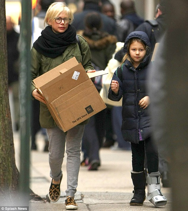 Michelle Williams Does The Heavy Lifting As Her Daughter